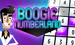 Boogie Numberland - Disco themed math and counting puzzle board game