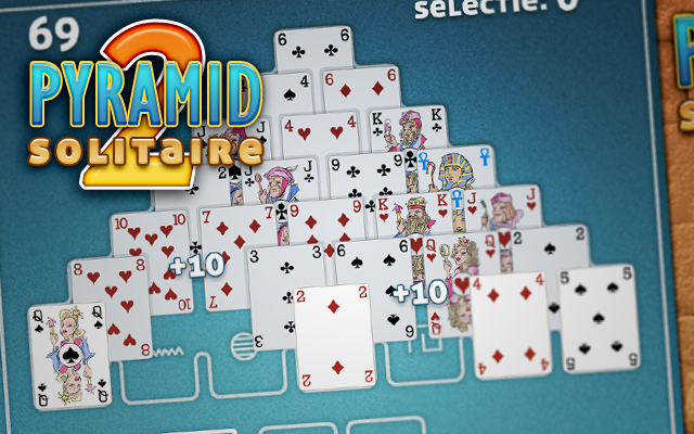 Pyramid Solitaire 2 - Clear the pyramid