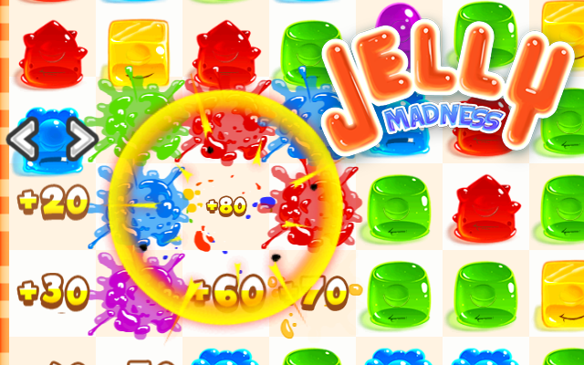 Jelly Madness - Te gekke Match 3 Jelly Splash