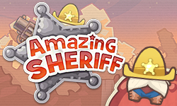 Help the Amazing Sheriff to catch the criminals