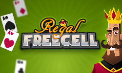 Regal Freecell - The Royal Freecell Solitaire