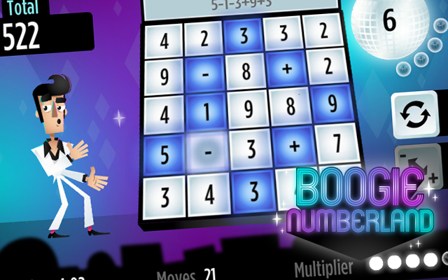 Boogie Numberland - Free to play counting puzzle game