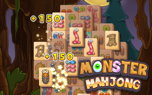 Monster Mahjong - Different levels to explore in this Mahjong Solitaire!