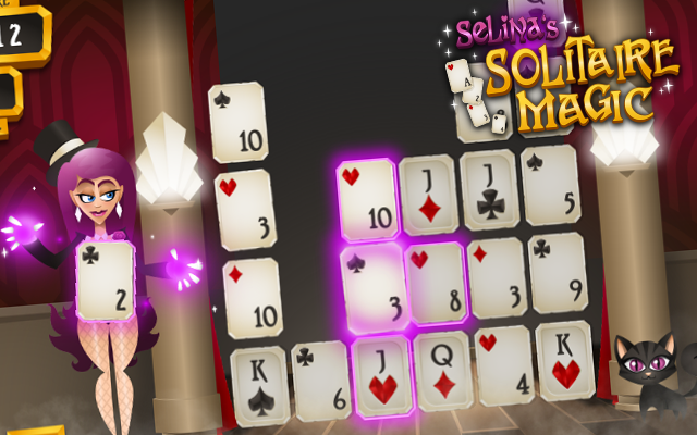 Solitaire Magic - A free to play magical higher lower Solitaire card game