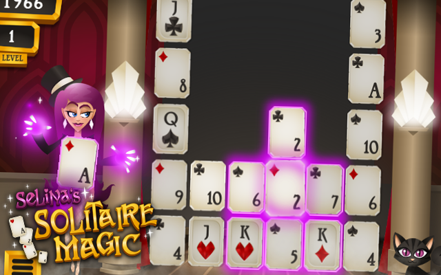Solitaire Magic - A magical alternative to Golf and Boom Solitaire