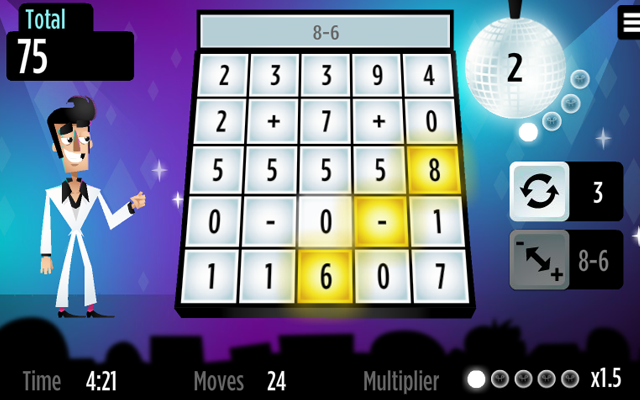Boogie Numberland - Counting puzzle game to groovy music