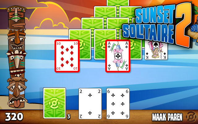 Sunset Solitaire 2 - The best solitaire game