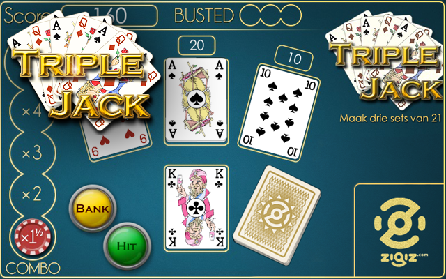Triple Jack - Blackjack variant