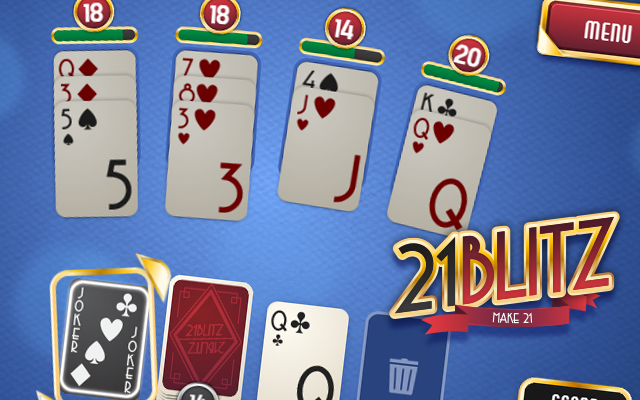 21 Blitz - A free to play black jack card game
