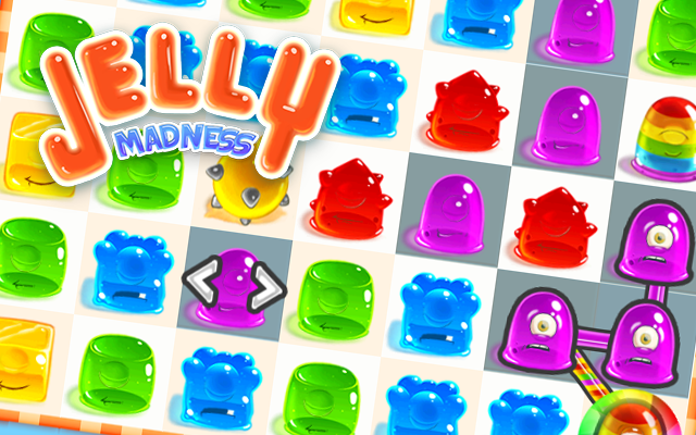 Jelly Madness - Clear the field within 50 moves!