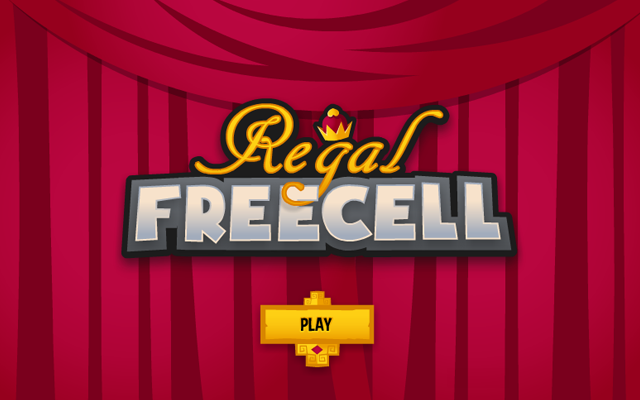 Regal Freecell - Stack the cards in this solitaire variant