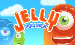 Jelly Madness - The maddening match 3 Jelly spectacle!