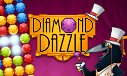 Diamond Dazzle - De match-3 brickbuster